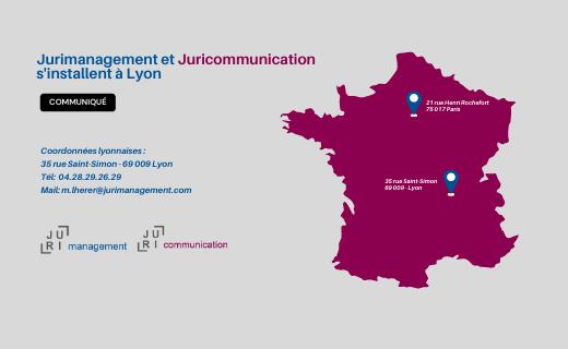 Jurimanagement Et Juricommunication S'installent à Lyon